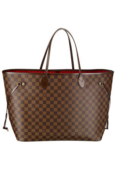 Louis Vuitton Damier Neverfull: классика от французского модного бренда.