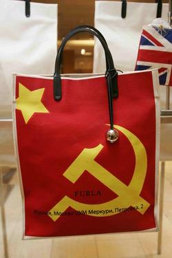 Шоппер, сумка через плечо и клатч с флагами Италии, США, Великобритании...