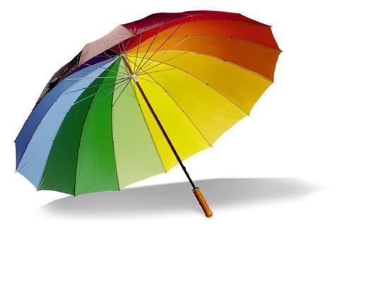 Зонт c металлическим зонты складные.