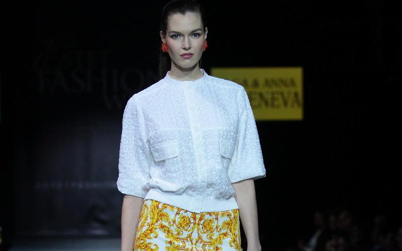 449528c44e6 Ольга и Анна Каменевы на Estet Fashion Week