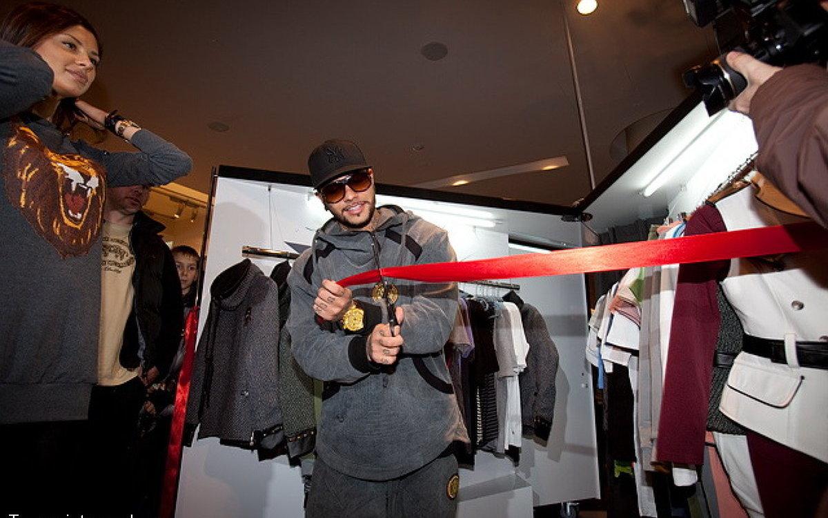 b4710faad3a3e Открылся новый концептуальный бутик русского Blackstar Тимати