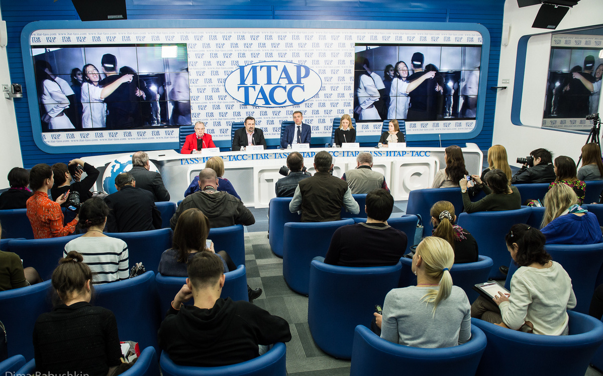 В пресс-центре ИТАР-ТАСС прошла пресс-конференция Mercedes-Benz Fashion Week 4293dcbcd66