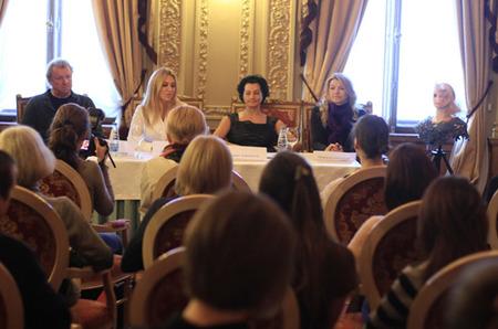 Пресс-конференция Чемпионки Мира по парикмахерскому искусству Надежды Самсоновой