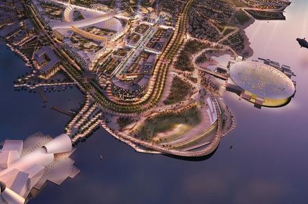 Louis Vuitton Moët Hennessy (LVMH) строит молл в Абу-Даби