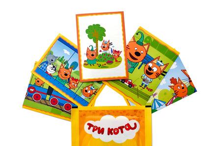 Первая коллекция наклеек Panini по российскому мультфильму «3 кота»!