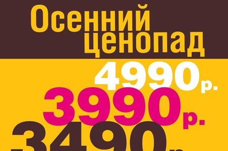 Осенний ценопад в «Эконике»
