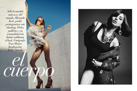 Будущая мама Миранда Керр в фотосессии для Vogue Spain