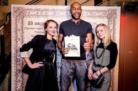 Александра Труш прикоснулась к «Вечным ценностям» в Ресторане узбекской кухни «Урюк-кафе» на Цветном Бульваре.