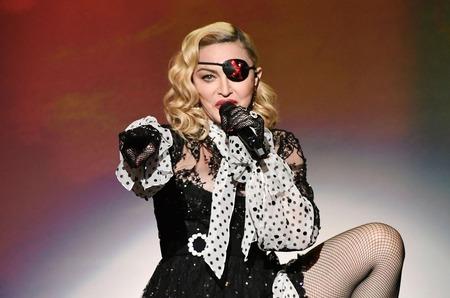 Мадонна работает над сценарием для собственного байопика