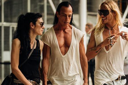Гости Недели мужской моды в Париже