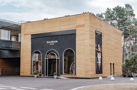 Как выглядит первый российский бутик Balmain?