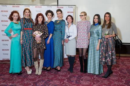 Пресс-показ коллекции одежды Анны Чапман