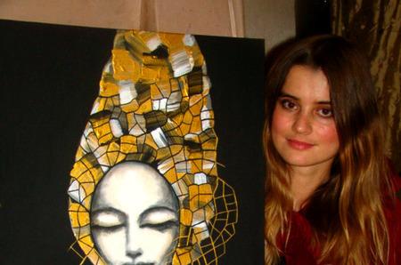 """Выставка модной художницы """"IRBIS"""" в рамках Осеннего карнавала."""
