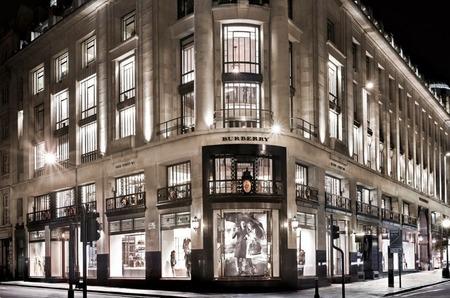 Открытие флагмана Burberry. Regent Street, London.