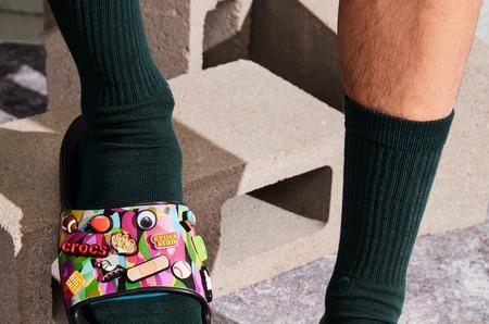 Забудьте все, что вы знали о камуфляже вместе с коллекцией Bubble Block от Croc