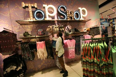 Марка Topshop закрывает магазины в Америке