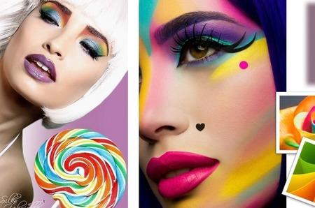 Яркие оттенки в макияже глаз – один из главных бьюти-трендов!