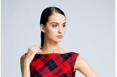 Архитектура стиля: платья в клетку сестер Калашниковых