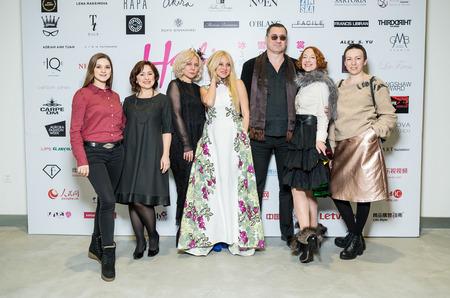 Показы русских дизайнеров в рамках Harbin Fashion Week 2017