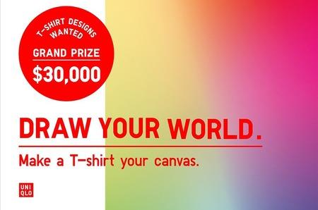 Марка Uniqlo запустила конкурс дизайна футболок