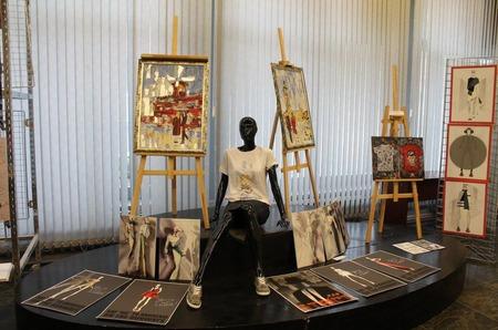 Выставка FASHION ILLUSTRATION успешно прошла с 15 по 22 мая 2017 года в РГУ им. А.Н. Косыгина