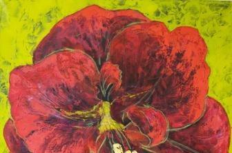 Выставка живописи модельера Ольги Полухиной в Галерее на Солянке «ЦвеТы 1*1: Сад моей Души»