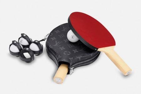 Набор для настольного тенниса от дома Louis Vuitton