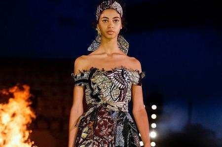 Африканская коллекция Dior. Cruise 2020