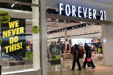 Марку Forever 21 оценили в 81 миллион долларов