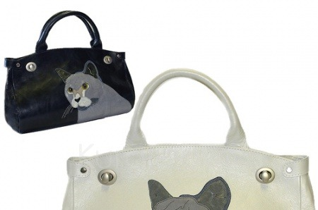 Мартовские коты на сумках Любови Кургузовой