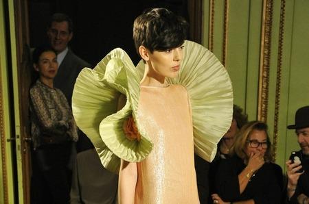 Пьер Карден представил первую за 17 лет коллекцию haute couture