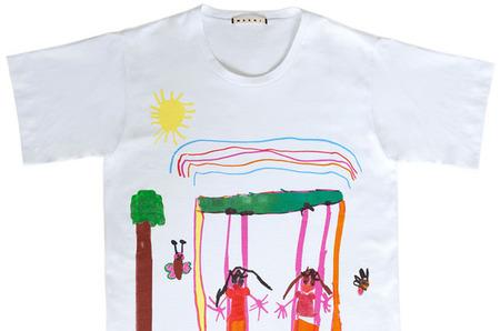 Marni выпустит благотворительную коллекцию футболок