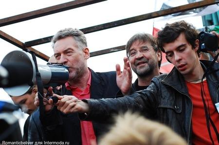 Шевчук и митинг возле памятника Пушкину!