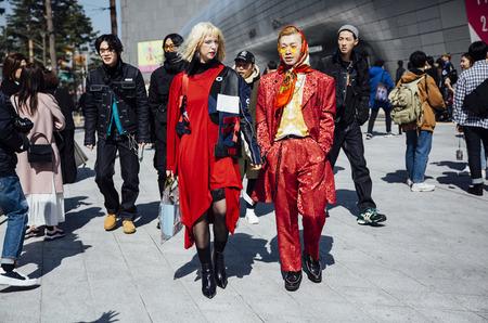 Неделя моды в Сеуле