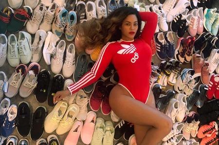 Бейонсе напомнила о коллаборации с adidas