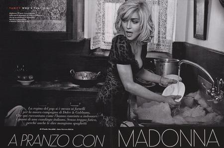 Мадонна стала лицом весенней коллекции Dolce & Gabbana