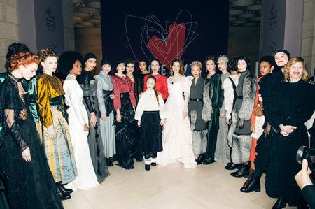Показ Ulyana Sergeenkо на Love Ball Arabia